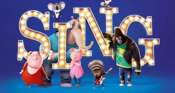 SING Movie Banner