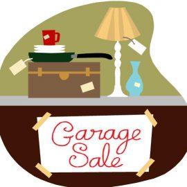 Community Garage Sale – Sign up 4/21/18 at 10 AM!