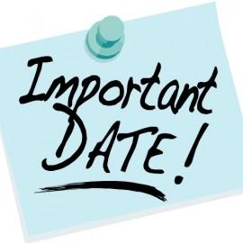 September Board MeetingRescheduled