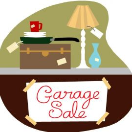 Community Garage Sale – Sign up now!