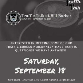 Traffic Talk at Bill Barber – Irvine PD